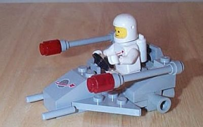 Classic Space Patrol Scooter