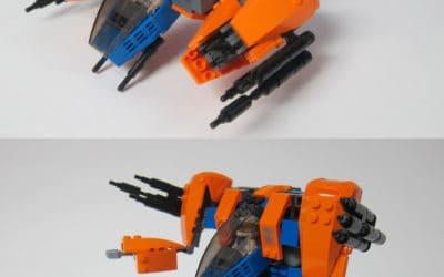 Marauder Transforming Fighter