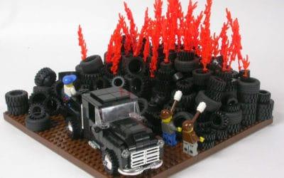Springfield Tire fire